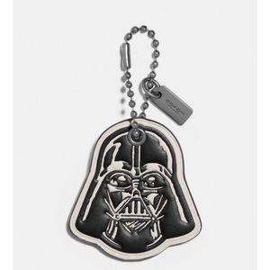 NWT Coach X Star Wars Darth Vader Hang Tag